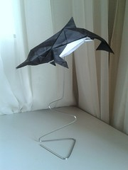 Dolphin (orig4mi.) Tags: paper origami dolphin fold