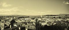 Genève (Mat Distef) Tags: city travel light panorama architecture europe cityscape suisse vue canton ville