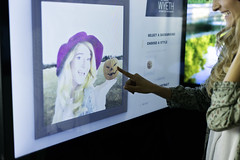 Warhol / Wyeth Interactive Photo Kiosk (ideum) Tags: art museum warhol wyeth americanart ideum touchwall customexhibit multitouchwall