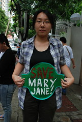 20150710-Protest for Mary Jane-081 (Lennon Ying-Dah Wong) Tags: mj philippines protest manila dfa pressconference departmentofforeignaffairs thephilippines       mjv  maryjaneveloso