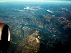 Lac de Serre-Ponon (Graffyc Foto) Tags: france alpes de europe foto photographie air lac panasonic boeing algerie vue hautes 737800 2015 aerienne serreponcon tz10 graffyc