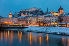 Salzburg Winter (Nomadic Vision Photography) Tags: christmas winter cold salzburg heritage austria historical oldtown salzburgcastle jonreid tinareid nomadicvisioncom