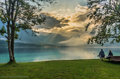"""After the rain"" - Lake Bohinj (Jasper180969) Tags: lake storm art sunshine clouds pentax sigma slovenia 1750 bohinj sunray k5 thattree sloveniaholiday2015"