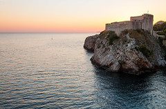 The Red Keep - Croatia, Dubrovnik (Nomadic Vision Photography) Tags: travel sunset summer europe croatia historical fortress touristattraction jonreid tinareid stlawrencefortress nomadicvisioncom theredkeep