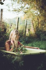 (Kaat dg) Tags: portrait girl grass outdoors dreamy