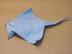 Manta Ray (F. Kawahata) (Helyades) Tags: origami pli pliage fold square carré papier paper animal ray raie manta kawahata