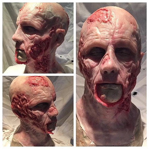 casted in dragon skin fx pro from smoothon painted with silc pig also from smoothon thanks for the great products cant wait for halloween