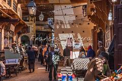 Alleys of the medina (FM Photographer) Tags: africa fez medina marroc feselbali zocosouk