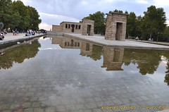 debod3 (al perez / leo.jinlaohu) Tags: madrid park parque sunset sky españa cloud lake reflection lago temple pond reflected cielo reflejo estanque puestadesol bluehour ocaso nube templo magichour reflexión 天空 debod 公园 寺庙 池 西班牙 湖 天 湖泊 夕阳 云彩 映像 反射 沼 泊 头 反照 圣殿 潭 horamágica 潢 反映 神庙 horaazul 反射光 蓝光 魔术光 或魔幻时刻 魔术时刻 云头