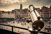 The  Panoramic Terrace... (Gilderic Photography) Tags: bruges brugge belgium belgique terrace belgie panoramic city ville terrasse telescope rain canon eos 500d gilderic