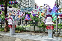 Orchard Road (chooyutshing) Tags: decorations singapore display celebrations walkway attractions orchardroad christmasfestival2015