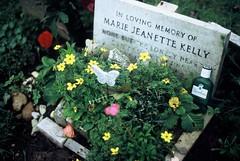 Mary Kelly (goodfella2459) Tags: london history film cemetery grave analog 35mm lens jack 50mm nikon jane mary slide leytonstone crime kelly fujifilm af nikkor whitechapel provia milf e6 f4 ripper f14d 400x casebookorg
