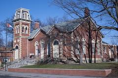 Old Streetsville Grammar School (Sorin Popovich) Tags: ontario canada brick architecture outdoors peel mississauga oldtown redbrick streetsville