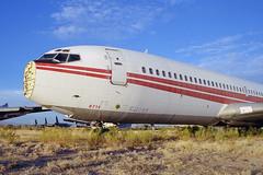 N776TW - TWA Flight 840 (Ian E. Abbott) Tags: boeing 707 boneyard twa boeing707 amarc davismonthanafb airplanegraveyard transworldairlines 18408 masdc hijackedaircraft amarg boeing707331b 707331b n28714 incidentaircraft militaryaircraftboneyard repairedaircraft kc135eprogram n776tw twaflight840 flight840