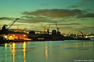Sunrise Golden Horn Istanbul