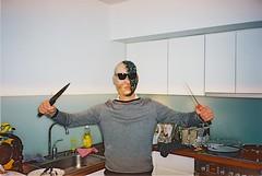romantic (subway rat) Tags: man film analog 35mm copenhagen mask kodak ishootfilm killer filmcamera mjuii analogphotography kodakfilm filmphotography 2015 mju2 olympusmjuii shootfilm filmisnotdead μmjuii filmforever ektar100 wedontgiveafuck