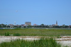 Charleston (Mr. Russell) Tags: history water kayak ship navy southcarolina charleston paddling ussyorktown charlestonharbor ussclamagore castlepinckney usslaffey lowcountryunfiltered