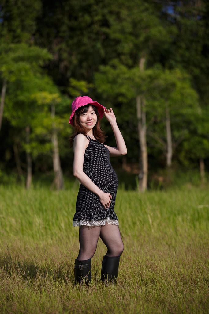 孕婦寫真,孕婦攝影,樹林孕婦,芒草孕婦,草原孕婦,Ajax&Far011