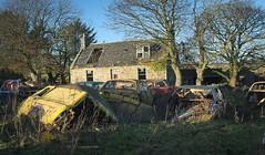 DSC_7177 (srblythe) Tags: cars scotland rust scrapyard knaven