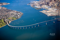 Coronado Bridge (Alex G. Photographer) Tags: california sandiego sandiegoca coronadobridge downtownsandiego coronadoisland downtownsd coronadocalifornia beautifulsandiego alexgphotographer