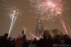 New years eve in Reykjavik (B&B Kristinsson) Tags: iceland fireworks reykjavik hallgrmskirkja happynewyear newyearseve sklavrustgur newyearseve2016