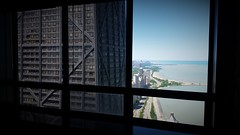 Across From John (michael.veltman) Tags: lake chicago tower water john drive illinois downtown looking place michigan north condo shore hancock