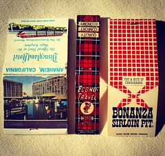 1960s & 1970s Matchbooks (Christian Montone) Tags: vintage disneyland disney 1960s 1970s matches montone matchbooks bonanza vintagegraphics christianmontone instagram