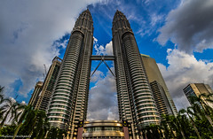 Petronas Tower (Mr.Anthony83) Tags: malesia malesya day lights kuala lumpur kl highest beautiful