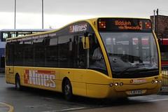 D&G Bus Optare Versa 160 (YJ57 XVZ) (john-s-91) Tags: dgbus optareversa 160 yj57xvz newcastleunderlyme nines