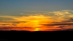 Summer's Last Sunset (SerpaDesign) Tags: summer over autumn last done sunset light bright sky clouds silhouette 2016 september 22 tannerserpa serpadesign