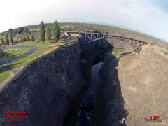 DU PKOgden 1d (bradleybennett) Tags: drone drones fly high quad copter blade 350qx3 remote control flying peter skene ogden canyon oregon bungee jump jumper jumping park bridge water creek stream