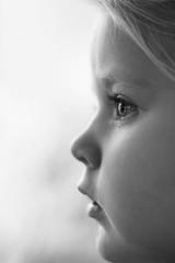 Focused (Daniel Staaf Photography) Tags: sony a7ii fe olympus zuiko om 50mm 5014 prime lens vintage blackandwhite blackwhite bw monochrome portrait daughter child children