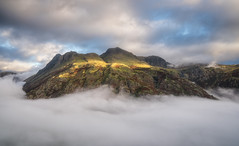 The Langdale Pikes (.Brian Kerr Photography.) Tags: cumbria lakedistrict langdale langdalepikes langdalevalley cloudinversion appicoftheweek