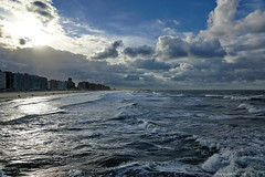 Blankenberge (DirkVandeVelde back , and catching up) Tags: europa europ europe belgie belgium belgica belgique westvlaanderen blankenberge zee sea outdoor mer meer plage beach sky clouds