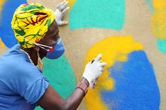 Afrografiteiras Pedra do Sal dia2 07 (Rossana Fraga) Tags: afrografiteiras pedra do sal rede nami