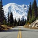 A Mountain at the End of the Road (Mount Rainier National Park)