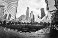 Ground zero (hjuengst) Tags: newyork groundzero blackandwhite worldtradecenter september11 911