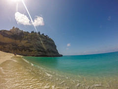 (Ivan S. Almeida) Tags: outdoor seaside beach hill church tropea calabria italy
