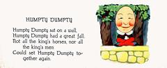 Humpty Dumpty (katinthecupboard) Tags: vintagechildrensillustrations nurseryrhymes mothergoose charlottestone