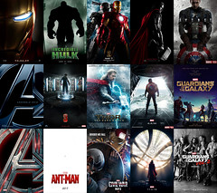 All Marvel Cinematic Universe Teaser Posters (AntMan3001) Tags: marvel cinematic universe teaser poster