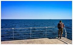 2016. Odesa. Ukraine (bobobahmat) Tags: man color people blue sky black sea beach life like street town city ukraine odesa