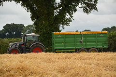 Fendt 720 Tractor with a Broughan Engineering Mega HiSpeed Trailer (Shane Casey CK25) Tags: fendt 720 tractor broughan engineering mega hispeed trailer green agco fermoy blackbeauty grain harvest grain2016 grain16 harvest2016 harvest16 corn2016 corn crop tillage crops cereal cereals golden straw dust chaff county cork ireland irish farm farmer farming agri agriculture contractor field ground soil earth work working horse power horsepower hp pull pulling machine machinery collect collecting nikon d7100 tracteur traktori traktor trekker trator cignik