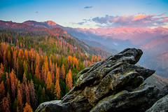 Moro Rock (Galince Travel) Tags: nature usa landscape travel rocks sky sunset california sequoia national forest
