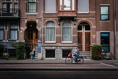 Bike Scene (primo2424) Tags: amsterdam cityscape landscape europe holland netherlands nature architecture canals oldworld bikes