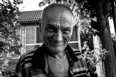 Portrait. 0201 (Permange Antonio) Tags: portrait blackandwhite black photography face bw nikon d3300 old eyes grandfather