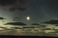 Solar eclipse at Ceduna 1/2 (omnia2070) Tags: australia south ceduna solar eclipse sun moon cloud sea ocean southern dark light darken darkened aura shine 2002 total
