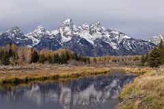 Schwabacher's Landing (ramislevy) Tags: robertamislevyphotography grandtetons wyoming mountains snakeriver boatlanding floodplain reflections nature landscape park autumn fall