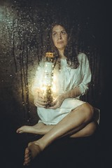 Call of the sea (Marty085) Tags: sea seatales lighthouse lighthousekeeper fineart vintage dreamy poetry melancholia ghost indoor rain rainy artistic portrait