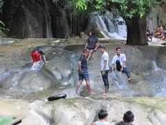 Wan Kan Lueang Waterfall - improvised water slide (jlarsen2006) Tags: asia thailand lueang lopburi waterfall wan kan natural improvised slide water