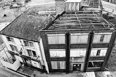 My Old Pub (Dave-Carroll) Tags: england yorkshire aerial architectural architecture blue building center city cityofculture cityscape davecarrollphotographycouk day downtown europe house housing hull rooftops skyline town travel uk urban view mono black white demolition nikon d5000 business financial hullnov2016 panoramic scenicrooftop leeds